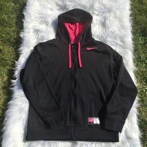 Nike Therma-Fit Hoodie Zip Jacket Pink/Black